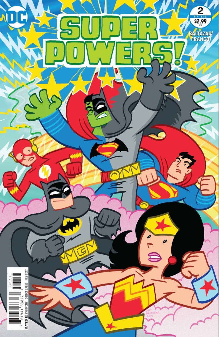 Super Powers! #2 Review