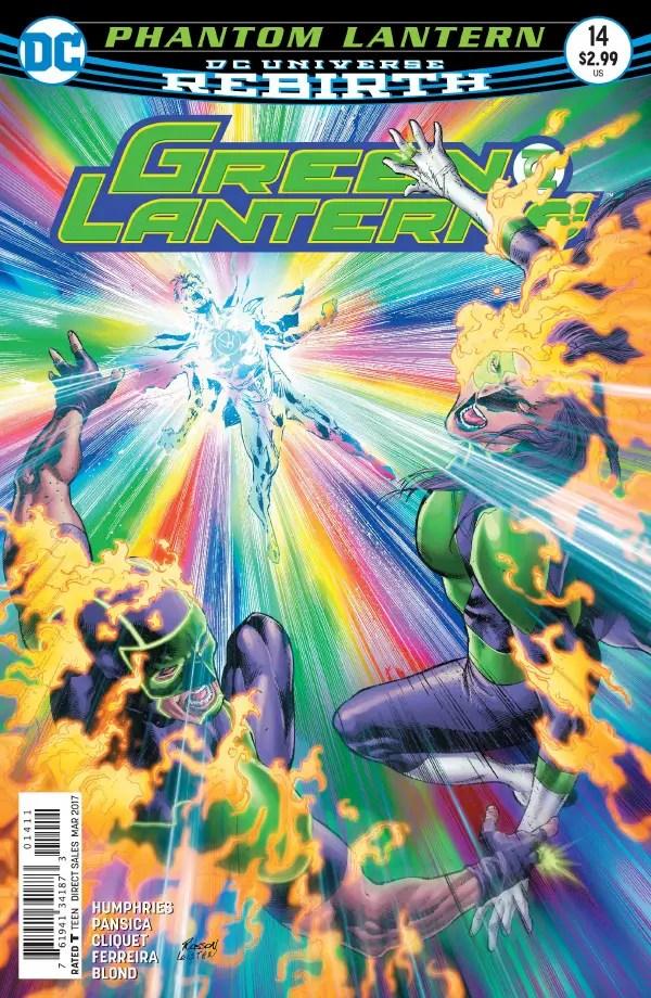 Green Lanterns #14 Review