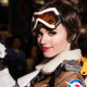 Overwatch: Tracer Cosplay by Amouranth