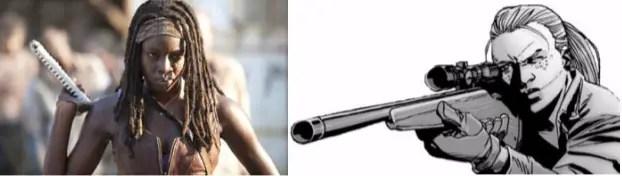the-walking-dead-michonne-comparison