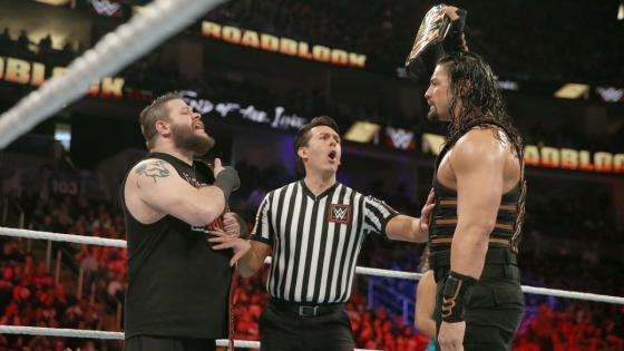 """For the first time since the """"In Your House"""" era of Pay-per-views the WWE has run two events with the same name. The original Roadblock was essentially a forgettable house show that managed to host a phenomenal title match between Triple H and Dean Ambrose, but literally nothing else of consequence. With this past weekend's Roadblock: End of the Line, the company hoped to improve on that formula - but was it any good?"""