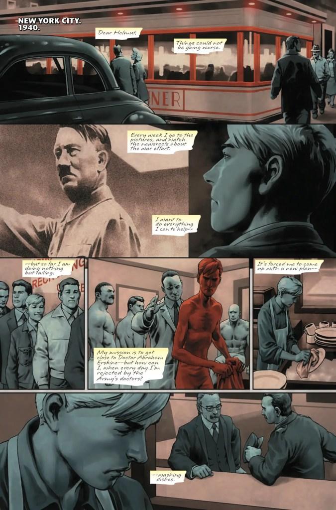 Captain America: Steve Rogers #15 Review