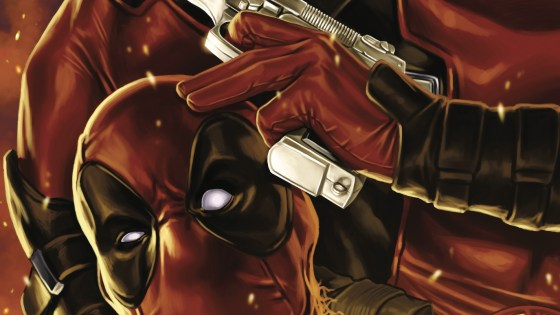 DEADPOOL 2099 reaches its DOUBLE-SIZED CONCLUSION! Wade's two daughters battle for his legacy! PLUS: The old man himself gets in the game! AND: IRON FIST shows just how IMMORTAL he is!