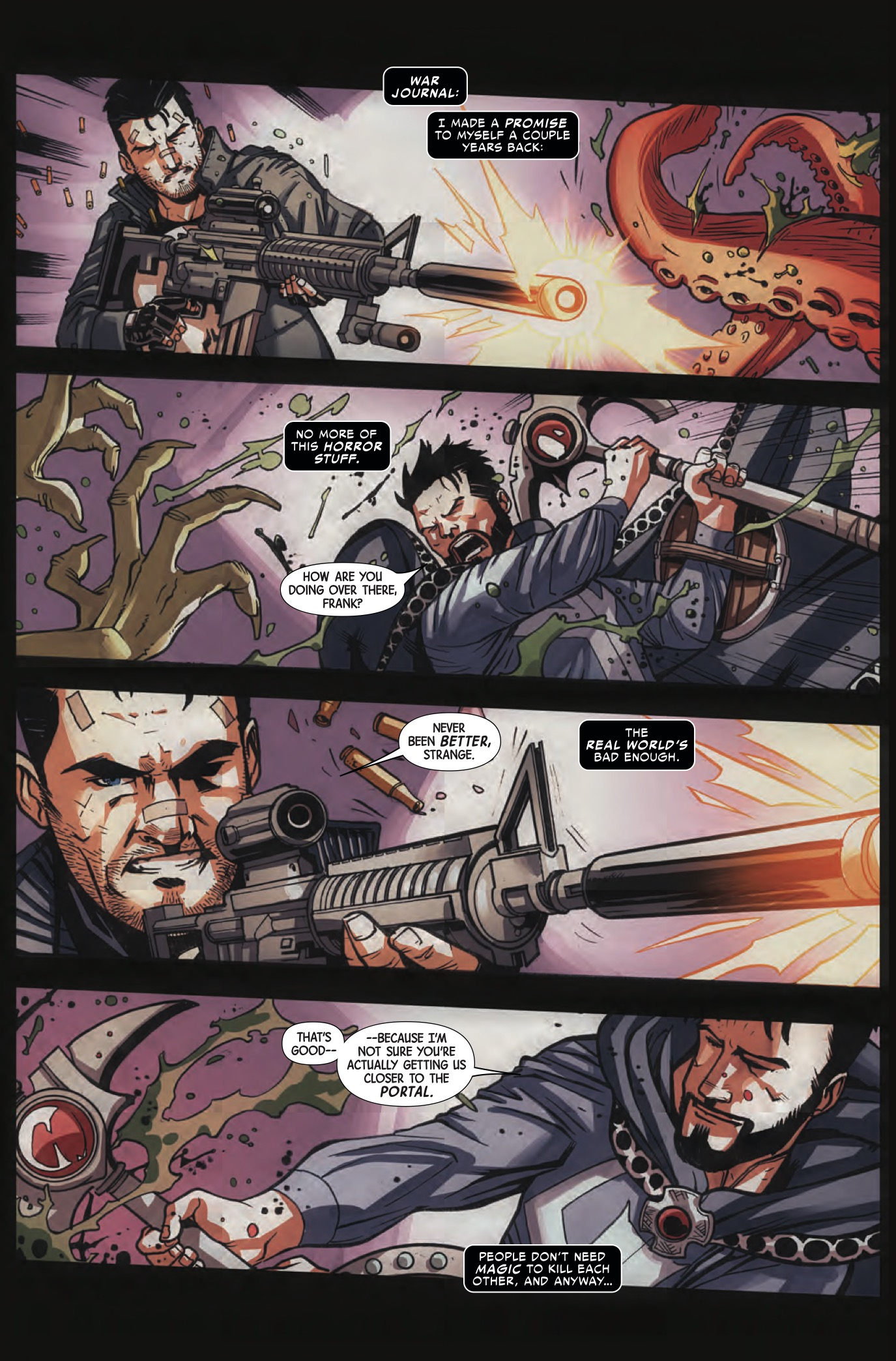 Doctor Strange/The Punisher: Magic Bullets #2 Review