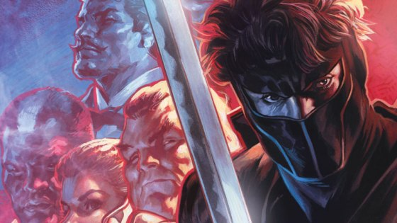 """Ninjak #23 offers a brand new story arc complete with a killer title Quentin Tarantino might enjoy: """"The Seven Blades of Master Darque."""""""