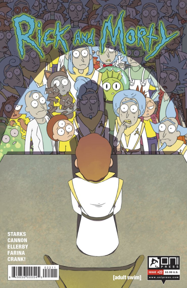 Rick and Morty #22 Review