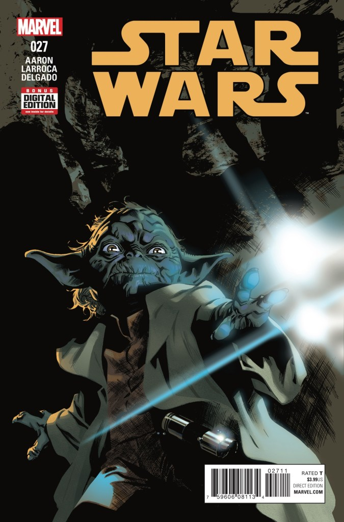 "From the journals of Obi-Wan sprouts the story of ""Yoda's Secret War"" as read by Luke Skywalker. This issue begins his quest on a mysterious planet ruled by wild children. Is it good?"