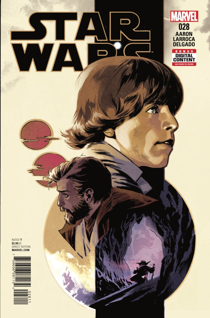 Marvel Comics has had their fair share of fantastic Star Wars comics, and why shouldn't they? They put some of their best artists and writers on these books. Jason Aaron has been fostering the Star Wars main title for 28 issues this week and while I wasn't a huge fan of issue #27, I'm giving him the benefit of the doubt to see if he can turn this Yoda story around. Is it good?