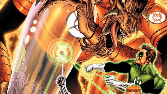 It's all been building up to this: Yellow Lanterns and Green Lanterns working together in a new way due to Sinestro's death. Larfleeze is the only thing in their way, but considering how powerful he is and how few Green and Yellow Lanterns there are, can they make it? Is it good?