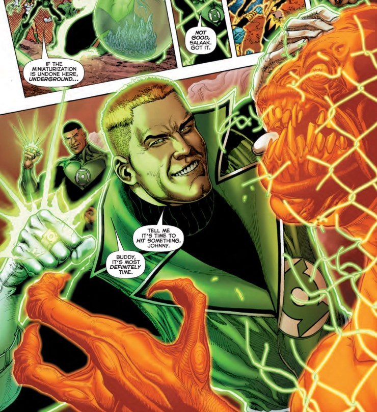 Hal Jordan and the Green Lantern Corps #12 Review