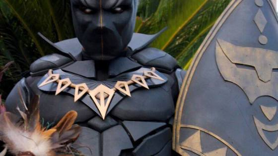 Black Panther Cosplay by Shawshank Props