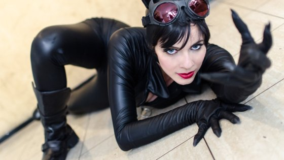 Catwoman Cosplay by Mel Meow