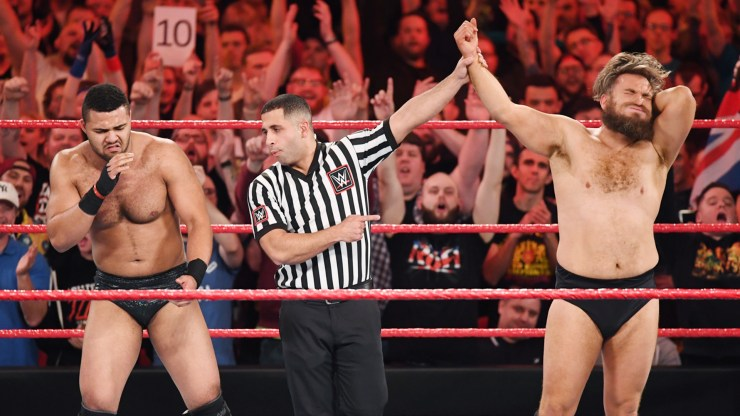 WWE United Kingdom Championship Tournament Day 1 Review