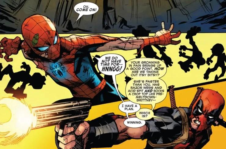 spider-man-deadpool-13-fight