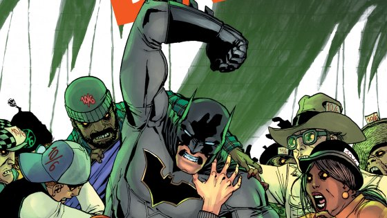 """""""Hats and Bats""""! Underestimate the Mad Hatter at your own peril. Batman takes on one of his most dangerous and deranged foes in a mind-bending tale from the powerhouse creative team of writer Scott Snyder and artist Giuseppe Camuncoli!"""