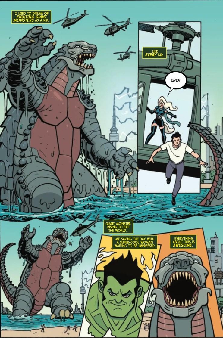'Monsters Unleashed: Battleground' is smashing good fun
