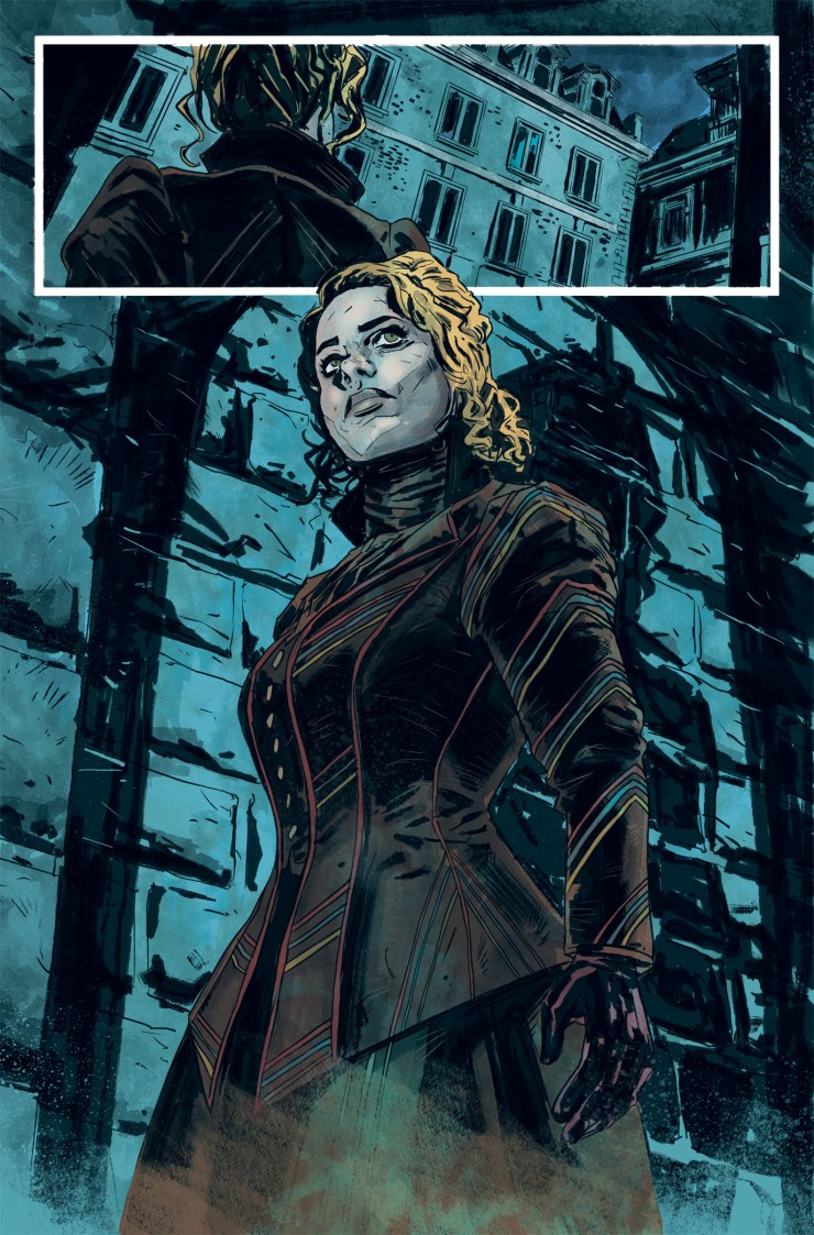 Penny Dreadful Issue 1 Page 1