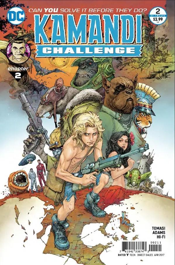 The Kamandi Challenge #2 Review
