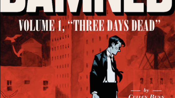 I didn't know anything about this book when I decided to review it, other than the cover looked like a noir-ish call back to those LA detective novels of the 1930's, or maybe a Constantine-like mystery. I was kind of right on both counts, proving you CAN judge a book by its cover and do a halfway decent job. Let's discuss The Damned.