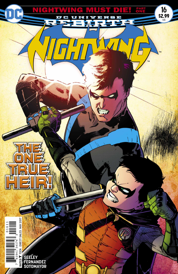After a fantastic Valentine's issue, Tim Seeley is clearly setting up a relationship for Dick Grayson that's going to be hard to resist. That relationship continues this week, but is it good?