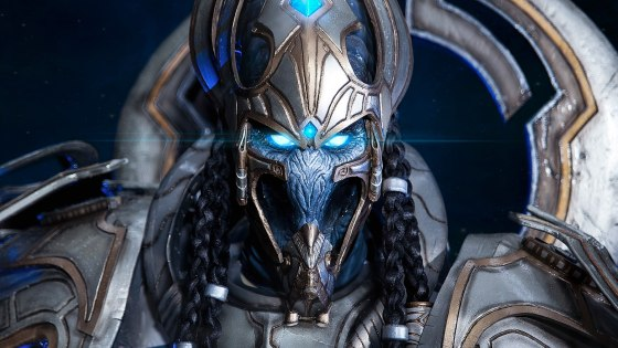 "Warning: These aren't in-game photos of Heroes of the Storm tank and Starcraft II Protoss leader Heirarch Artanis, but this cosplay by Yuggy (Yuliya Gruzdeva) is so damn good you'll be stammering, ""My life for Aiur"" the whole time you gaze upon its splendor."