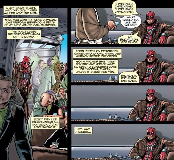Recipe: Chimichangas à la Deadpool