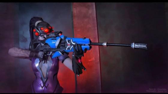 Overwatch: Widowmaker Cosplay by Arienai-Ten