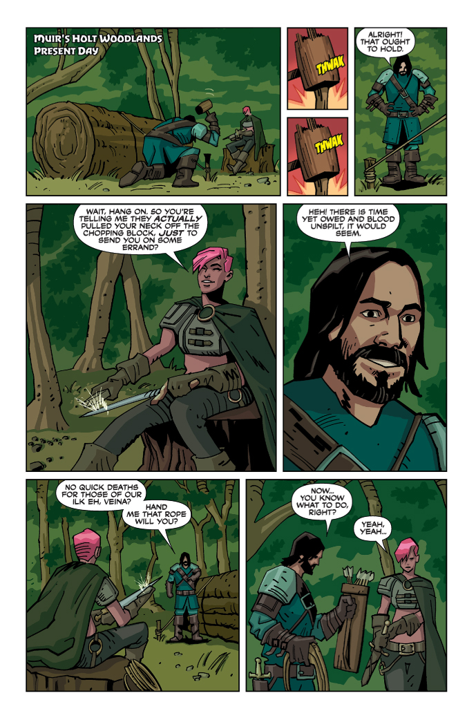 Action Lab Preview: Brigands Vol. 1