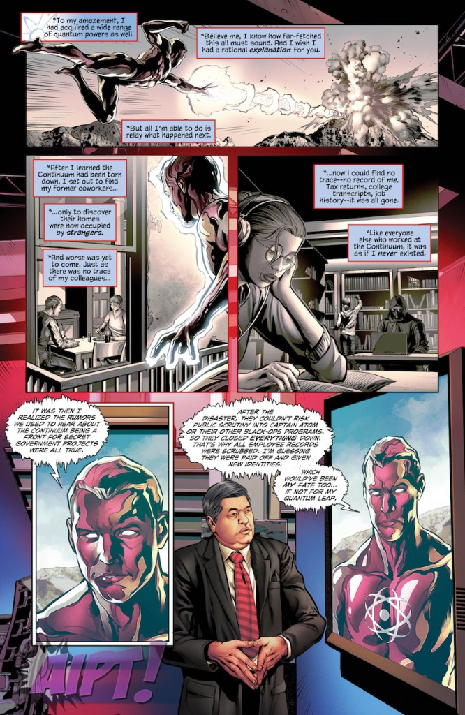 [EXCLUSIVE] DC Preview: The Fall and Rise of Captain Atom #4