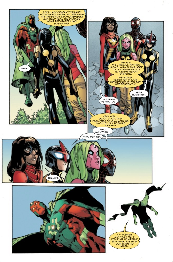 Marvel Preview: Champions #7