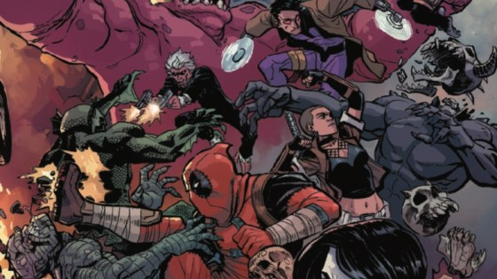 'TIL DEATH DO US… Part 3 (of 6). Deadpool has to choose a side in his wife's war agains the surface world. Where do his Mercs for Money stand…with Deadpool or with humanity?