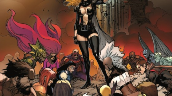 The war between the Inhumans and the X-Men takes a dark turn leaving Inhumans hopelessly outmatched. Emma Frost, the White Queen, faces off against Medusa, queen of the Inhumans, as both fight for the future of their people. It all ends here!