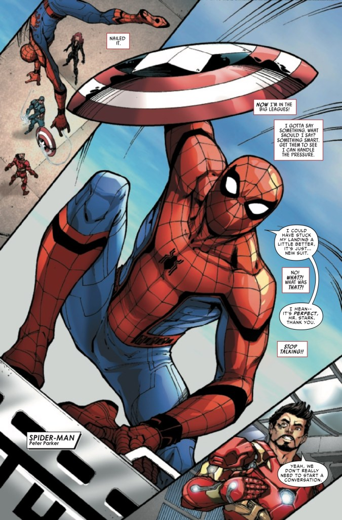 Marvel Preview: Spider-Man: Homecoming Prelude #2
