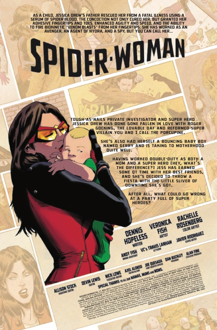Marvel Preview: Spider-Woman #17