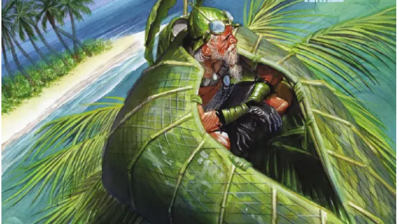 After last month's great 100th issue, Astro City is back, but it's not taking place in the city. No, instead we're being whisked away to a tropical island, which is a tad odd, but we digress...is it good?