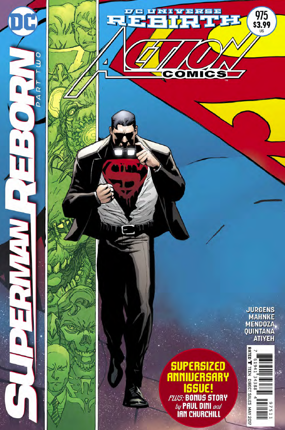 The day has come where we learn who Clark Kent really is and given his peculiar behavior the last few weeks, Action Comics #975 contains one of the most anticipated reveals from DC Comics in some time. Superman's son was kidnapped, presumably by Clark Kent, and we finally learn what the deal is in this supersized issue! Is it good?