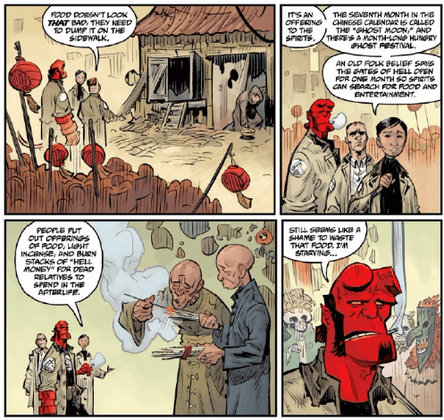 Hellboy and the B.P.R.D. 1954: Ghost Moon #1 Review