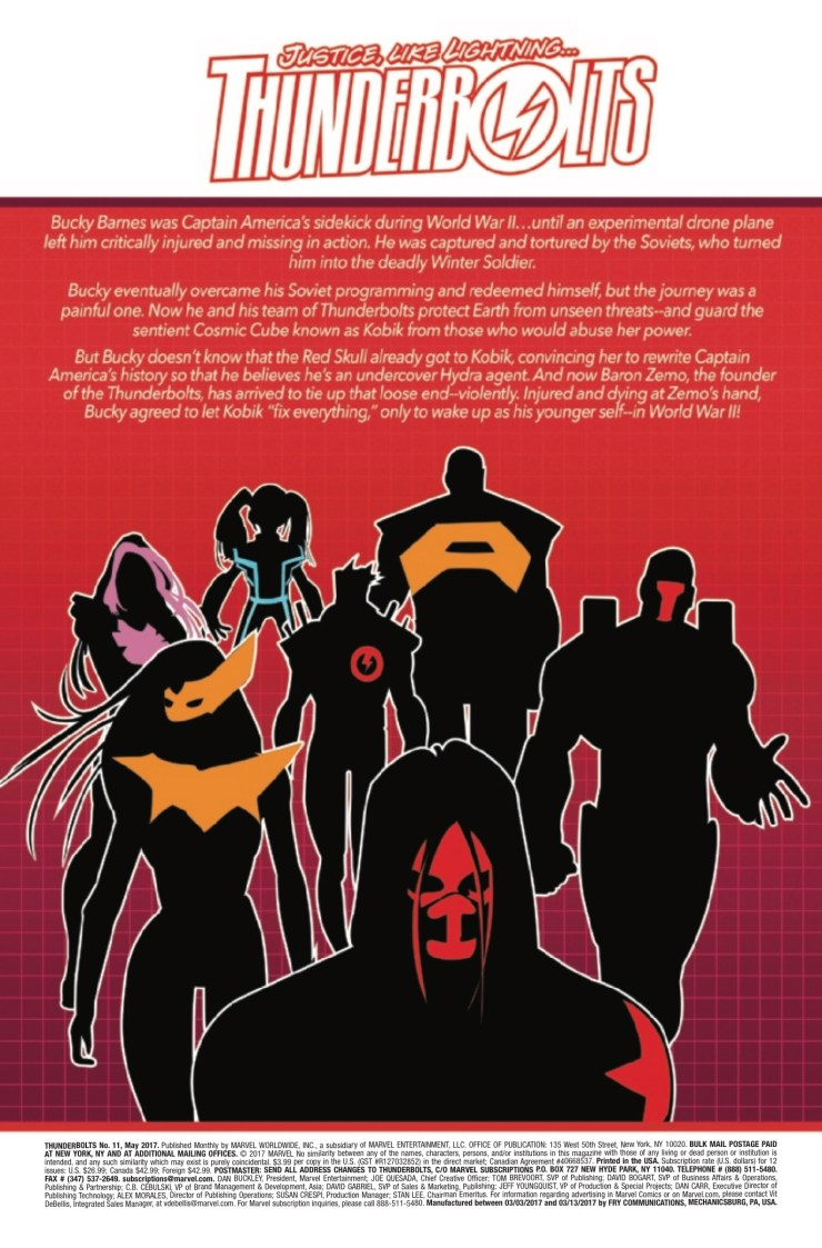 Marvel Preview: Thunderbolts #11