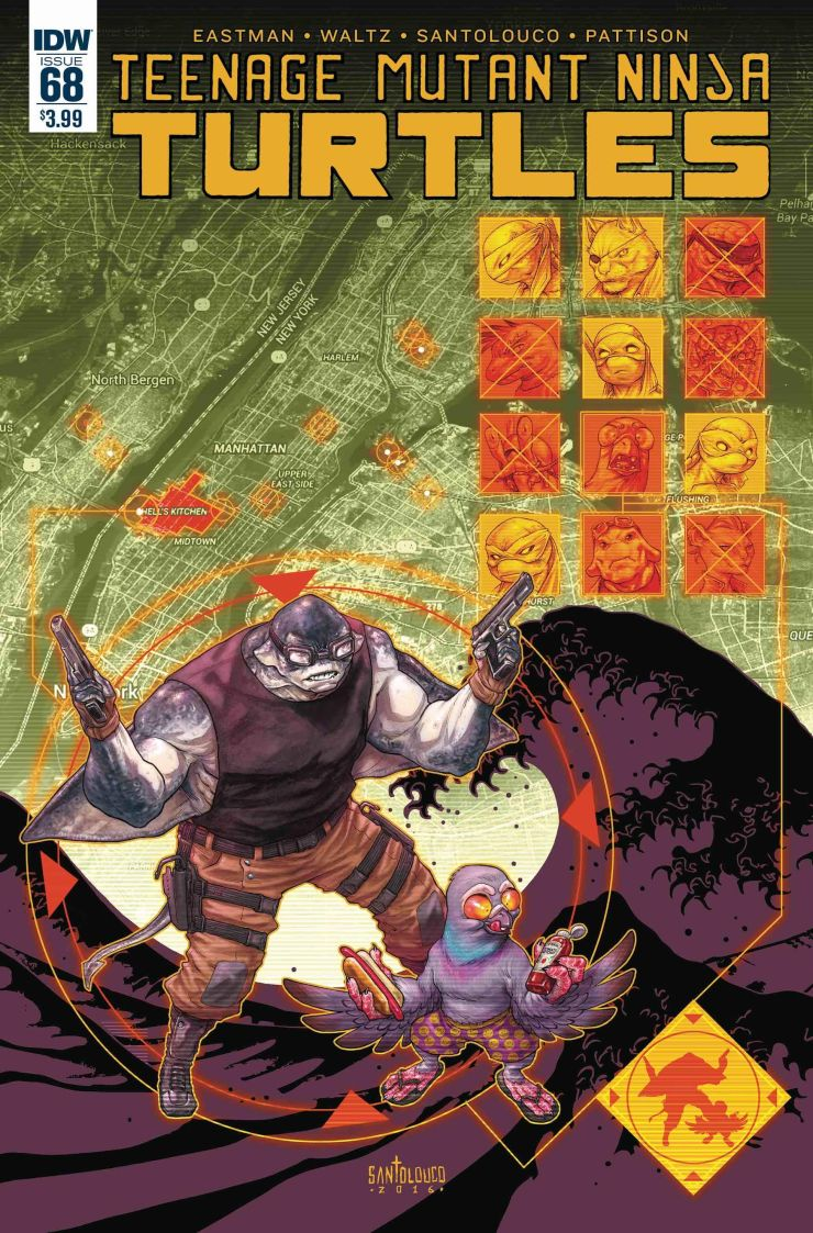 Teenage Mutant Ninja Turtles #68 Review
