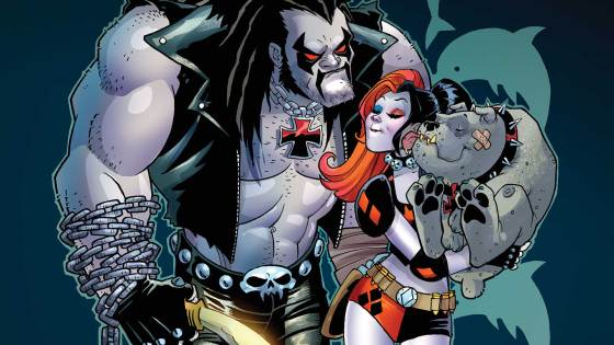 After speaking to Jimmy Palmiotti and Amanda Conner way back in October, I couldn't help but get excited for a Lobo/Harley Quinn crossover. And now it's here! The exciting space adventure (which might include nudity?!) is here, but is it good?