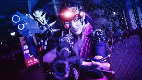 Overwatch: Widowmaker Cosplay by Reilena