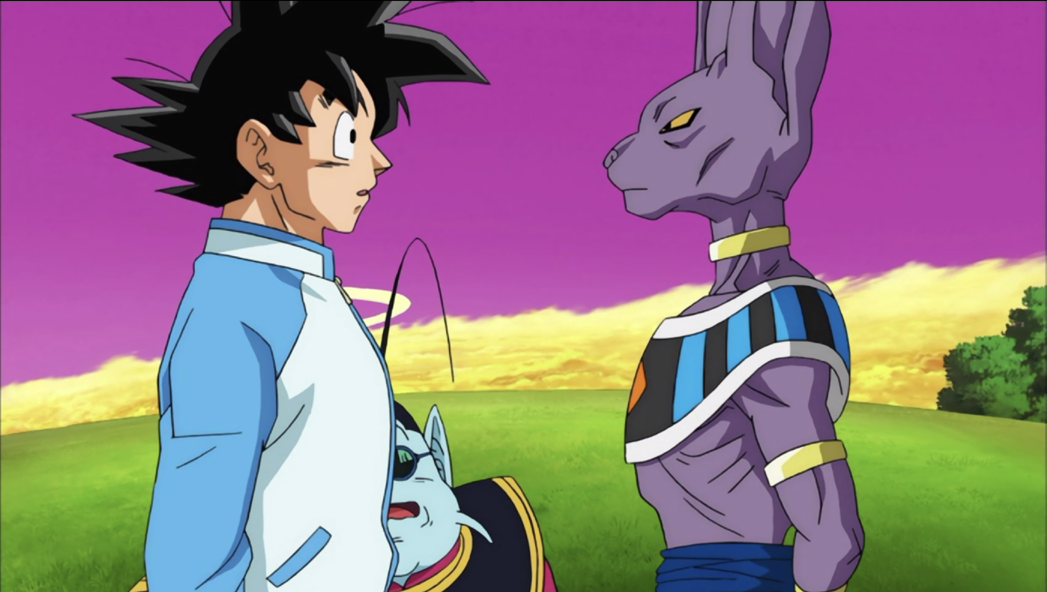 "Dragon Ball Super: Episode 5 ""Showdown on King Kai's World! Goku vs. Beerus the Destroyer"" Review"