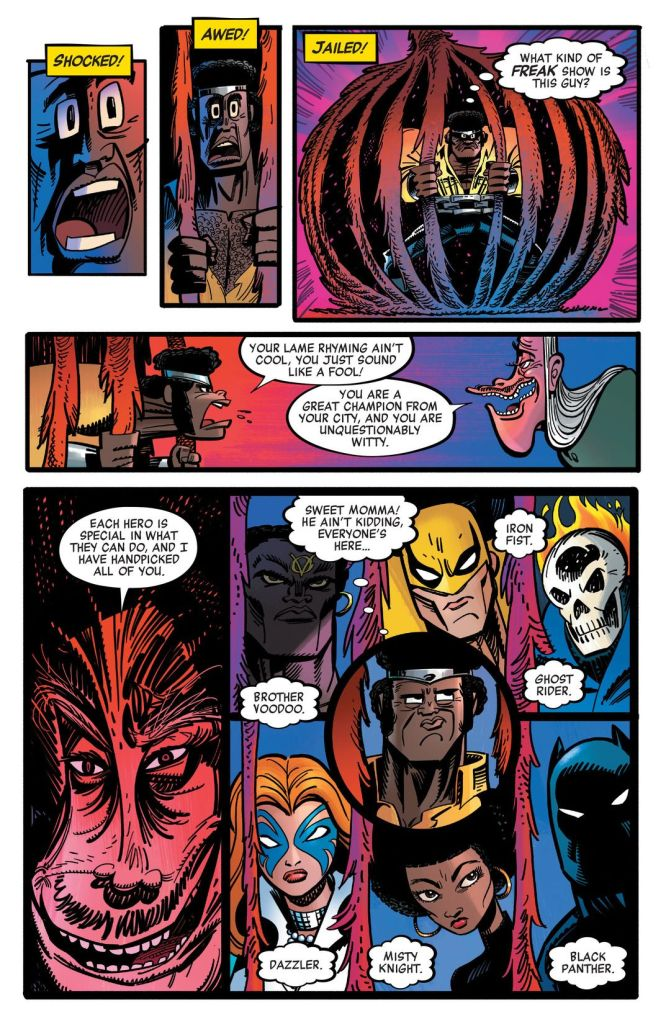 Cage! TPB Review
