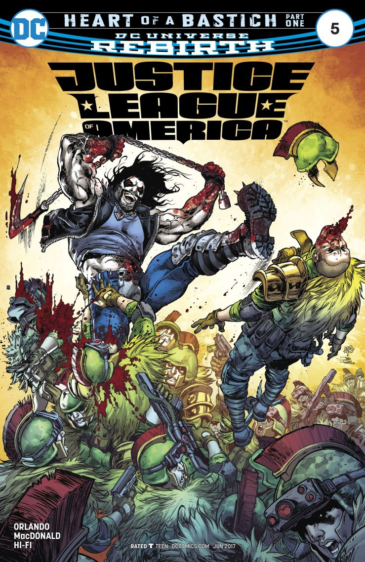 Justice League of America #5 Review