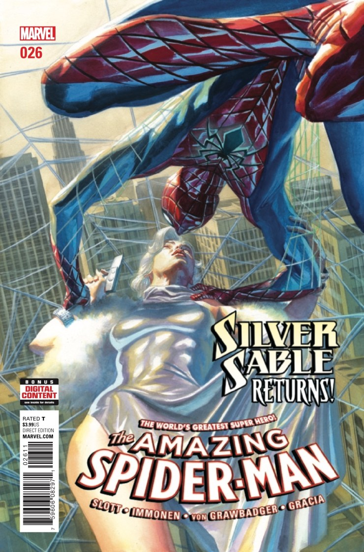 Silver Sable is back (*yawn*) and she's hunting down Norman Osborn (*raised eyebrow*). Will she and Spider-Man be able to work together to take him down?
