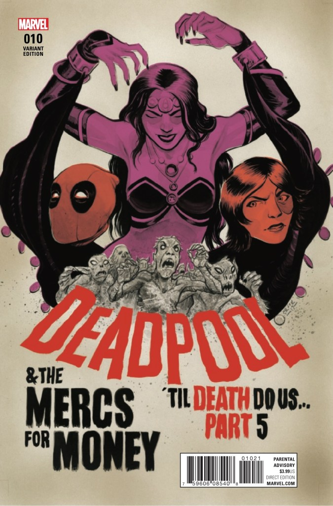 Marvel Preview: Deadpool and the Mercs for Money #10