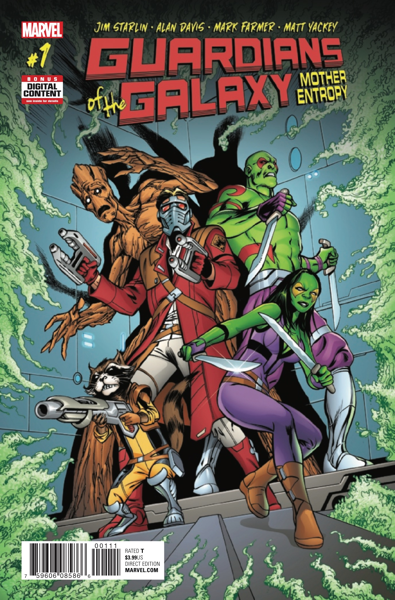 Guardians of the Galaxy: Mother Entropy #1 Review