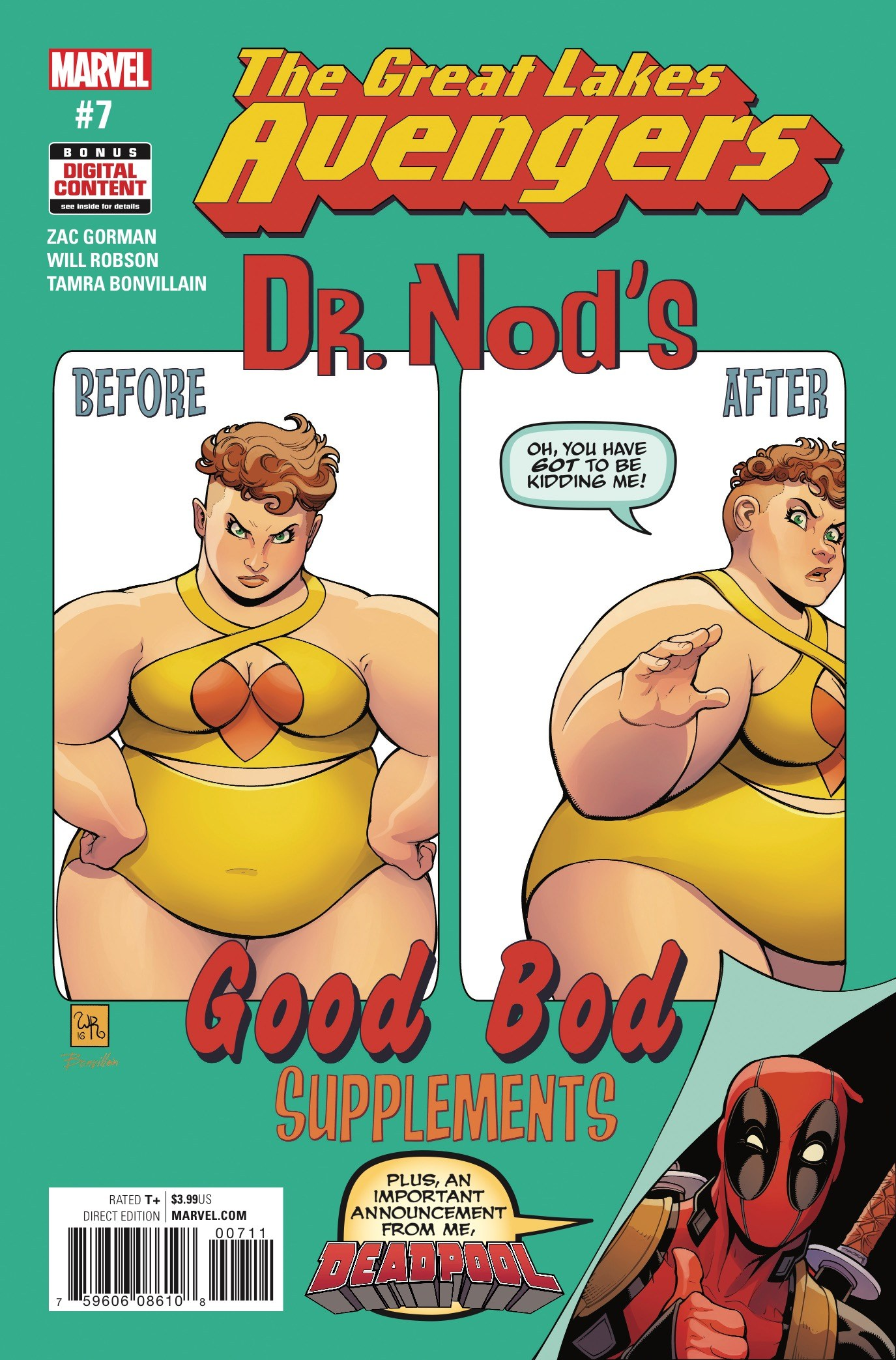 Great Lakes Avengers #7 Review