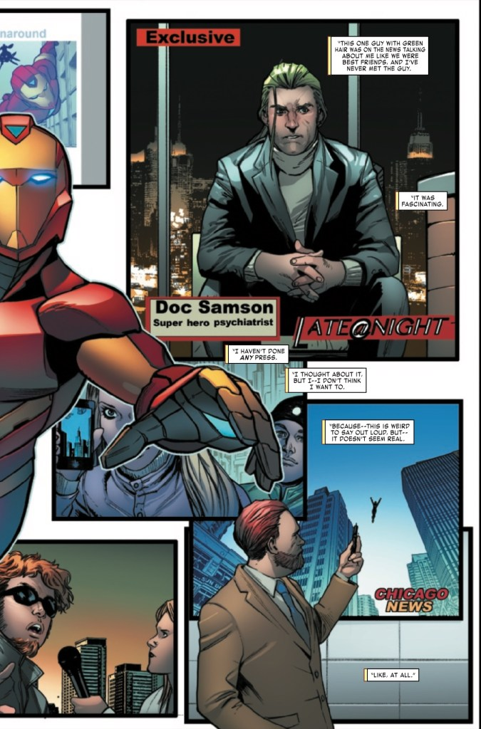 Marvel Preview: Invincible Iron Man #6