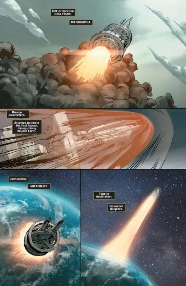 Bryan Hill And Matt Hawkins Discuss Their Sci-Fi Mystery OGN - 'Golgotha'